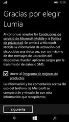 Microsoft Lumia 640 - Primeros pasos - Activar el equipo - Paso 14