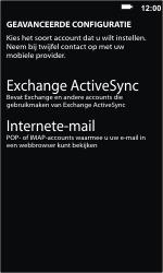 Nokia Lumia 610 - E-mail - Handmatig instellen - Stap 8