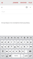 Samsung G920F Galaxy S6 - E-mail - envoyer un e-mail - Étape 4