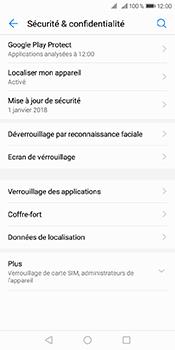 Huawei Y6 (2018) - Sécuriser votre mobile - Activer le code de verrouillage - Étape 4