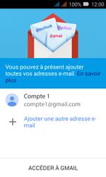 Huawei Y3 - E-mail - Configuration manuelle (gmail) - Étape 13