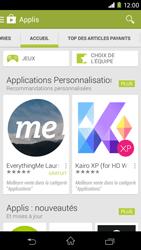 Sony Xpéria M2 - Applications - Télécharger une application - Étape 5