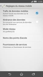 Sony Xperia Z2 - Internet et connexion - Activer la 4G - Étape 6