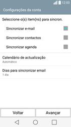 LG C70 / SPIRIT - Email - Adicionar conta de email -  8