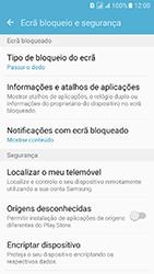 Samsung Galaxy J5 (2016) DualSim (J510) - Segurança - Como ativar o código de bloqueio do ecrã -  5