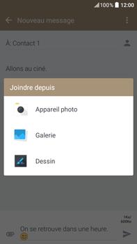 HTC Desire 825 - Contact, Appels, SMS/MMS - Envoyer un MMS - Étape 16