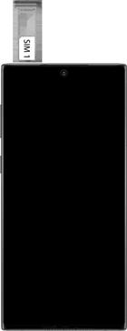 Samsung galaxy-note-10-dual-sim-sm-n970f - Instellingen aanpassen - SIM-Kaart plaatsen - Stap 4