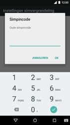 Motorola Moto G 4G (3rd gen.) (XT1541) - Beveiliging en ouderlijk toezicht - Hoe wijzig ik mijn SIM PIN-code - Stap 7