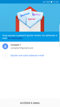 Samsung Samsung G928 Galaxy S6 Edge + (Android M) - E-mail - Configuration manuelle (gmail) - Étape 16