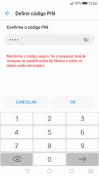 Huawei P10 - Segurança - Como ativar o código de bloqueio do ecrã -  9