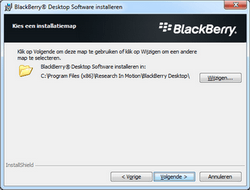 BlackBerry 9300 Curve 3G - Software - Synchroniseer met PC - Stap 9