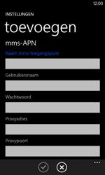 Nokia Lumia 625 - Internet - handmatig instellen - Stap 14