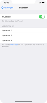 Apple iphone-xr-met-ios-12-model-a1984 - Bluetooth - Aanzetten - Stap 4