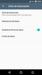 Sony Xperia XZ - Android Nougat - Internet - Ver uso de datos - Paso 12