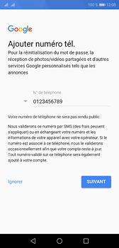 Huawei P20 - Applications - Créer un compte - Étape 13