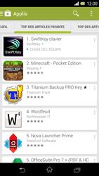 Sony Xpéria Z - Applications - Télécharger une application - Étape 7