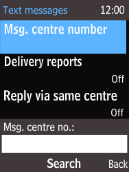 Nokia 220 - SMS - Manual configuration - Step 8