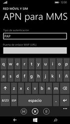 Microsoft Lumia 640 - Mensajería - Configurar el equipo para mensajes multimedia - Paso 8