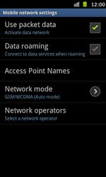 Samsung I9070 Galaxy S Advance - Internet - Manual configuration - Step 6