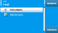 Nokia N97 - E-mail - e-mail instellen: POP3 - Stap 13