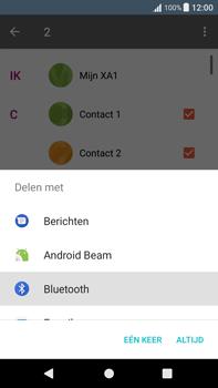 Sony Xperia XA1 Plus (G3421) - Contacten en data - Contacten overzetten via Bluetooth - Stap 9