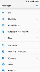 ZTE Blade V8 - Wifi - handmatig instellen - Stap 2
