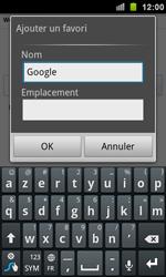 Samsung I9100 Galaxy S II - Internet - navigation sur Internet - Étape 5