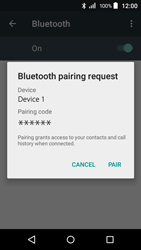 Acer Liquid Z320 - WiFi and Bluetooth - Setup Bluetooth Pairing - Step 7