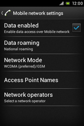 Sony ST23i Xperia Miro - Internet - Manual configuration - Step 8