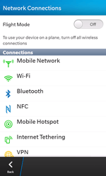 BlackBerry Z10 - Internet - Usage across the border - Step 5