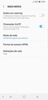 Samsung Galaxy S8 - Android Oreo - Internet no telemóvel - Como ativar 4G -  8