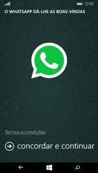 Microsoft Lumia 535 - Aplicações - Como configurar o WhatsApp -  5
