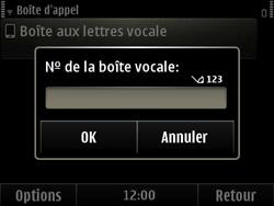 Nokia E6-00 - Messagerie vocale - Configuration manuelle - Étape 6