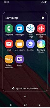 Samsung Galaxy A40 - Messagerie vocale - configuration manuelle - Étape 5