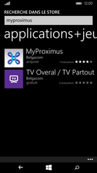 Nokia Lumia 830 - Applications - MyProximus - Étape 7