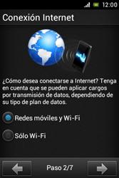 Sony Xperia E - Primeros pasos - Activar el equipo - Paso 4