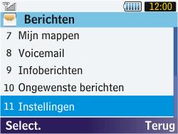 Samsung S3570 Chat 357 - MMS - Handmatig instellen - Stap 15