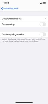 Apple iPhone X - iOS 13 - Buitenland - Internet in het buitenland - Stap 6