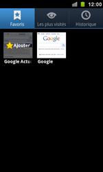 Samsung I9100 Galaxy S II - Internet - navigation sur Internet - Étape 8