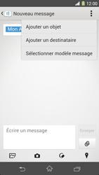 Sony Xpéria Z1 - Contact, Appels, SMS/MMS - Envoyer un MMS - Étape 12