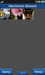 Samsung Wave 2 - Photos, vidéos, musique - Envoyer une photo via Bluetooth - Étape 5
