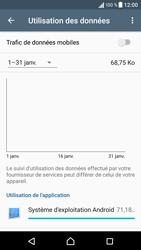 Sony Xperia X - Internet et connexion - Désactiver la connexion Internet - Étape 7