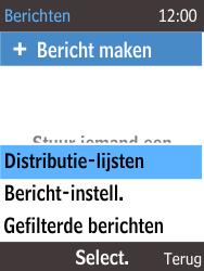 Nokia 215 (Type RM-1111) - SMS - Handmatig instellen - Stap 5