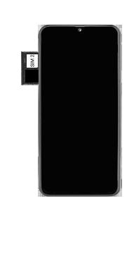 Samsung Galaxy A40 - Appareil - comment insérer une carte SIM - Étape 7