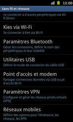 Samsung I9070 Galaxy S Advance - Réseau - utilisation à l'étranger - Étape 8