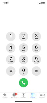 Apple iPhone X - iOS 13 - Chamadas - Como bloquear chamadas de um número específico - Etapa 3