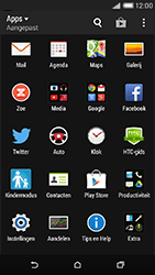 HTC Desire 816 - Wifi - handmatig instellen - Stap 3