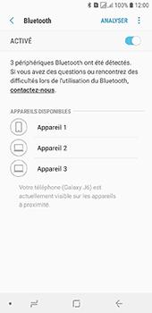 Samsung Galaxy J6 - Internet et connexion - Connexion avec un équipement multimédia via Bluetooth - Étape 8