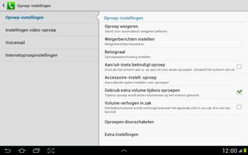 Samsung N8000 Galaxy Note 10-1 - Voicemail - handmatig instellen - Stap 6