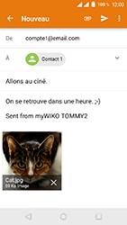 Wiko Tommy 2 - E-mails - Envoyer un e-mail - Étape 15